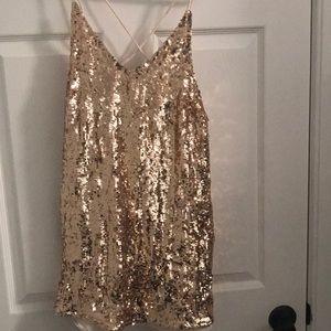 Pretty sequin dress